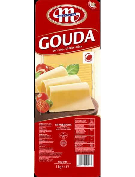 Ser Gouda plastry 1 kg