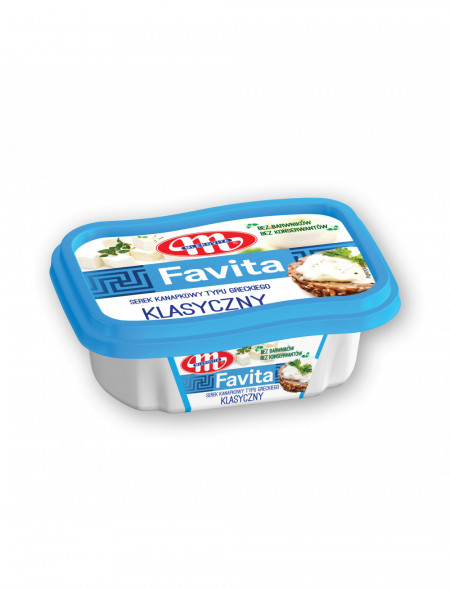 Favita serek kanapkowy - klasyczna - kubek 150 g