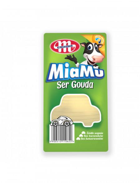 Ser Gouda MiaMu plastry 100 g