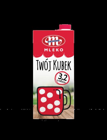 Mleko UHT Twój Kubek 3,2% tł. 1 L