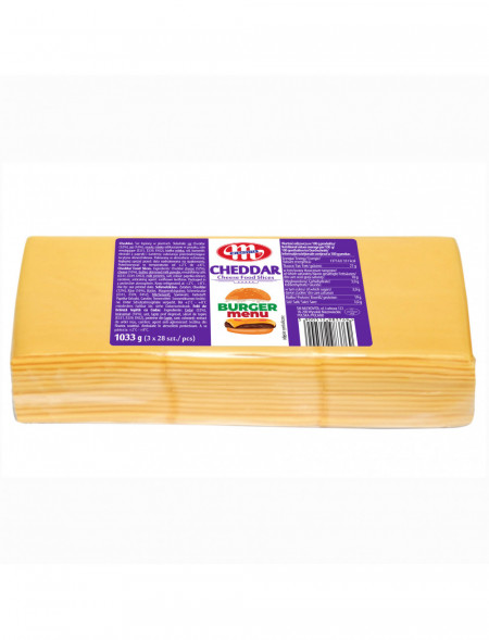 Cheddar ser topiony w plastrach 1033 g
