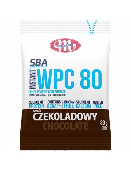 SBA WPC 80 czekoladowy 30 g