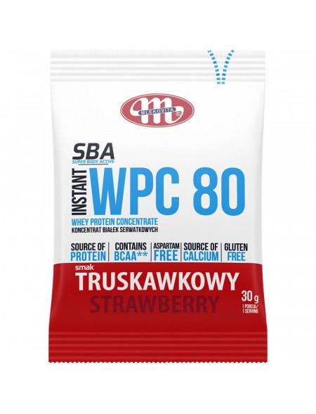 SBA WPC 80 truskawkowy 30 g