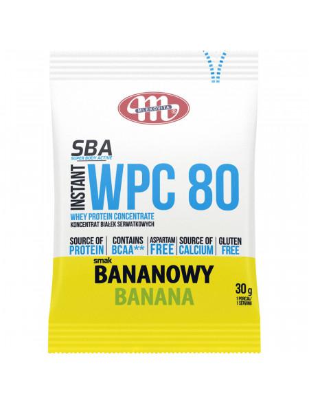 SBA WPC 80 bananowy 30 g