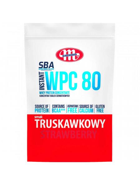 SBA WPC 80 truskawkowy 700 g
