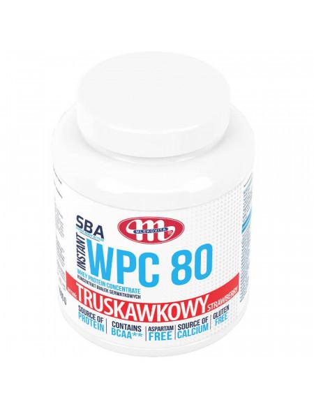 SBA WPC 80 truskawkowy 1000 g