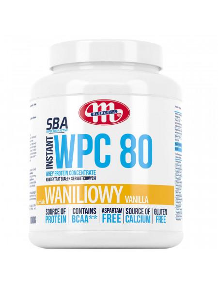 SBA WPC 80 waniliowy 1000 g