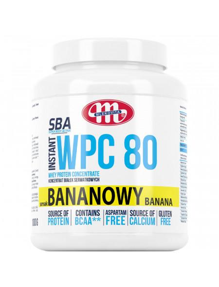 SBA WPC 80 bananowy 1000 g