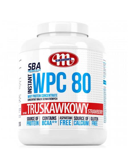SBA WPC 80 truskawkowy 2270 g