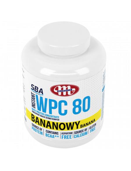 SBA WPC 80 bananowy 2270 g