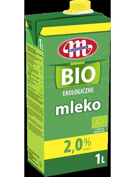 Mleko UHT ekologiczne BIO 2% 1 l