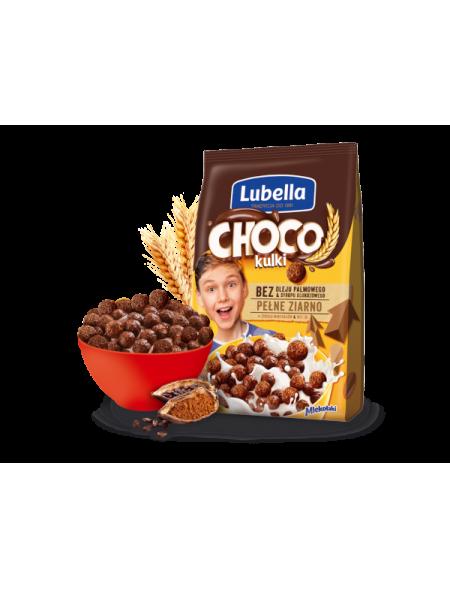 PŁATKI ŚNIADANIOWE MLEKOŁAKI kuleczki czekoladowe 250 g