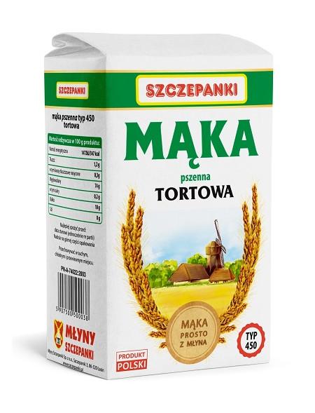 Mąka pszenna tortowa Szczepanki T450