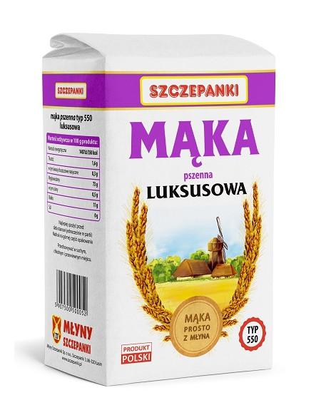 Mąka pszenna luksusowa  Szczepanki T550