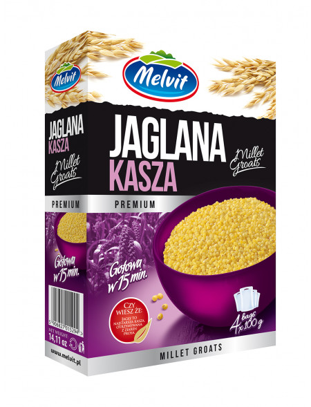 Kasza Jaglana 4x100 g