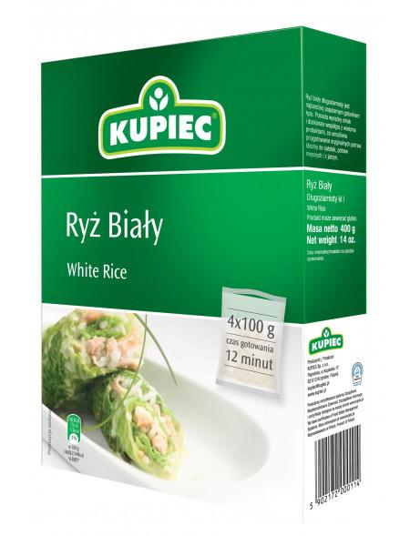 Ryż biały Kupiec4x100 g