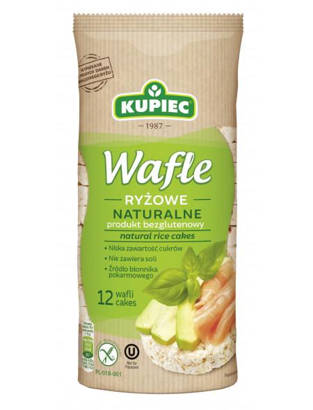 Wafle ryżowe naturalne