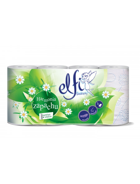 Elfi papier toaletowy harmonia zapachu 8 szt.