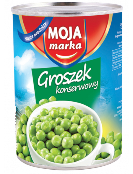 Groszek Moja 390g