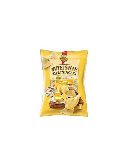 Wiejskie ziemniaczki masło z solą 130g