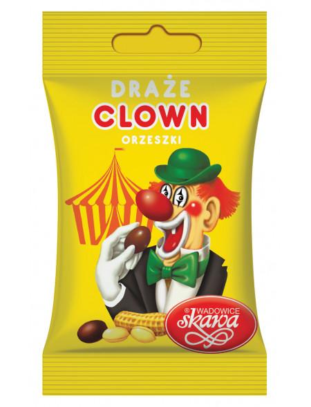 Draże Orzeszki w Cukrze Clown 70g