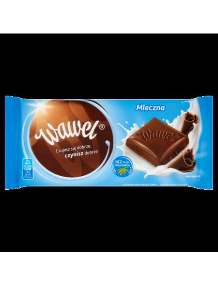 Klasyczna mleczna czekolada Wawel 90 g