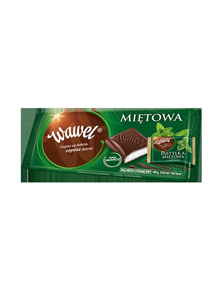Wawel, czekolada miętowa 90 g