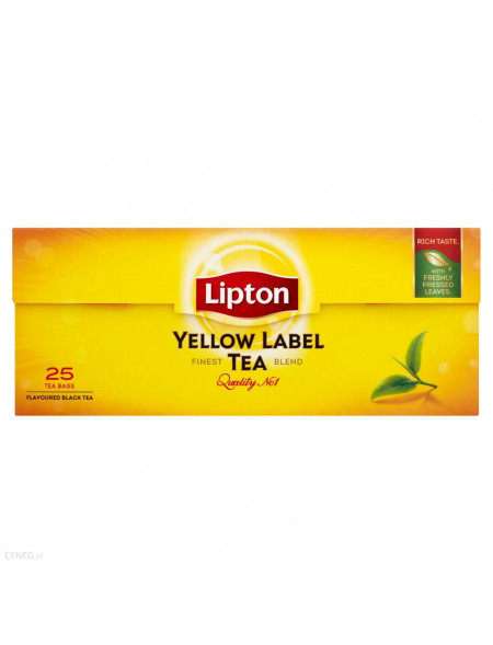 Lipton herbata czarna 25 torebek
