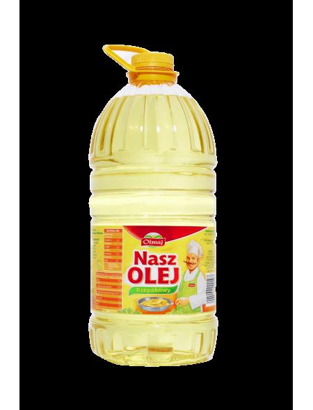 Olmaj Nasz Olej rzepakowy 5 L
