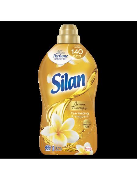 Płyn do zmiękczania tkanin, Silan 1,45 L,  Aroma Therapy Fascinating Frangipani