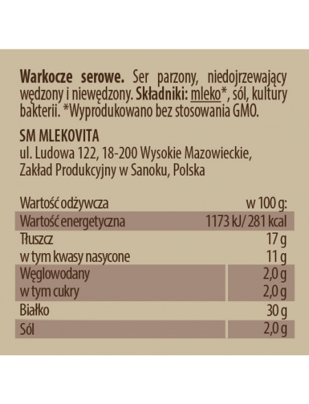 Górskie Specjały Warkocze...