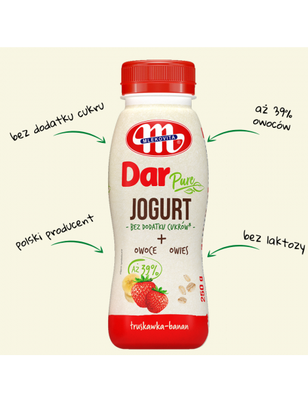 Jogurt Dar PURE...