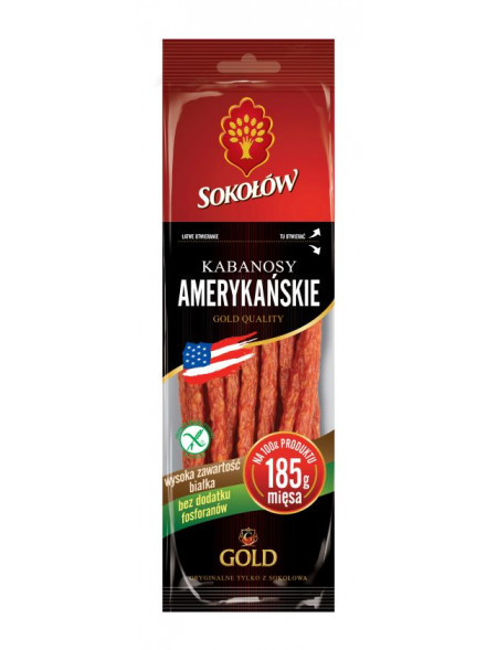 Kabanosy Amerykańskie 100 g