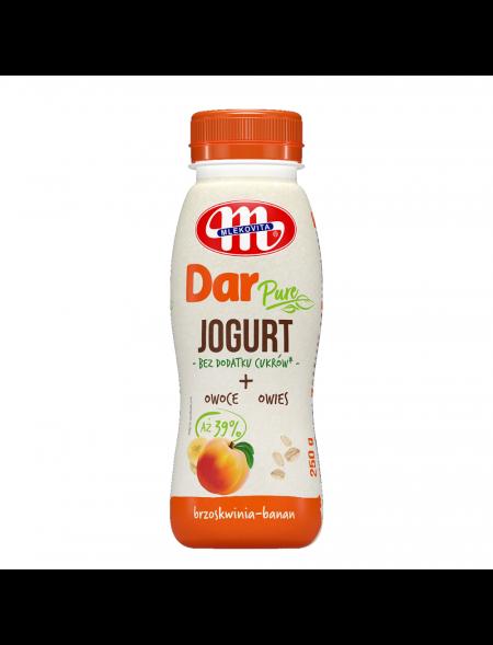 Jogurt Dar PURE brzoskwinia-banan 250 (07.06.2021 r.) g x3