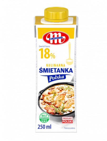 Śmietanka Polska 18% 250 ml (27.08.2021 r.) x3