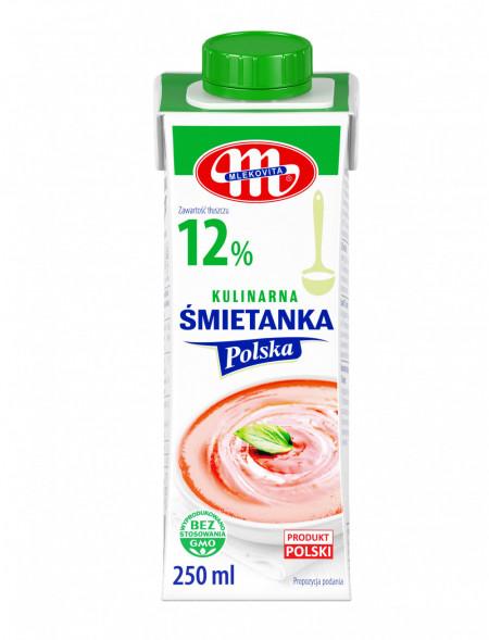 Śmietanka Polska 12% 250 ml (27.08.2021 r.) x3