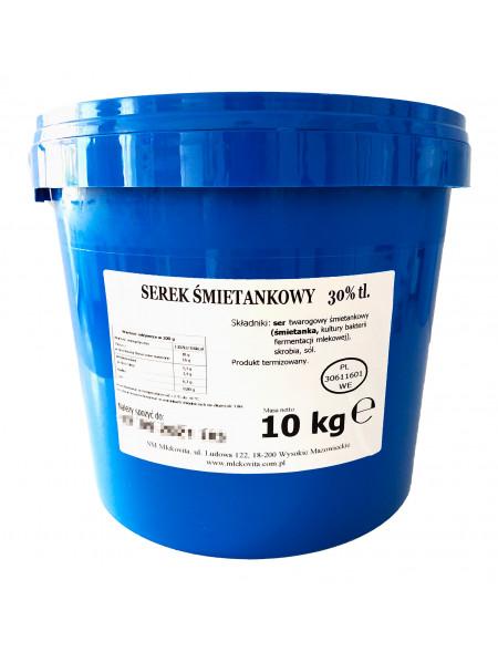 Serek Śmietankowy 30% tł. 10 kg