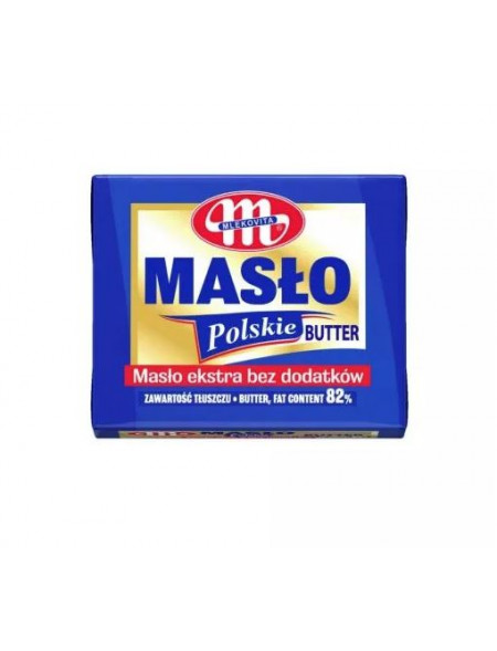 Masło Polskie Ekstra 82% tłuszczu 100 g