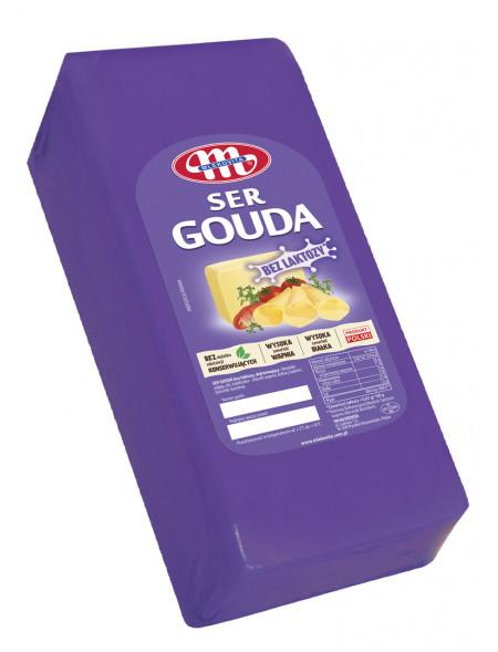 Ser Gouda bez laktozy blok ok. 3,08 kg
