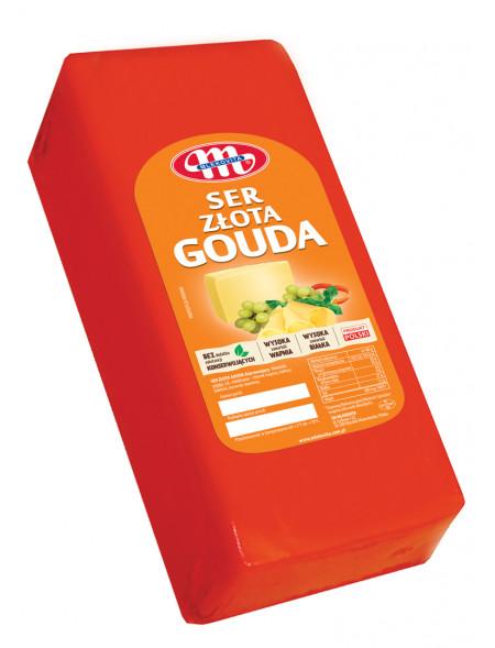 Ser Złota Gouda z dziurami blok ok. 3,35 kg